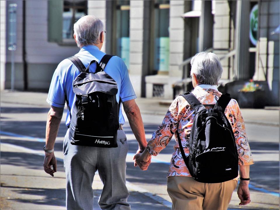Senior, Older Person, Para, Total, Street, People, City