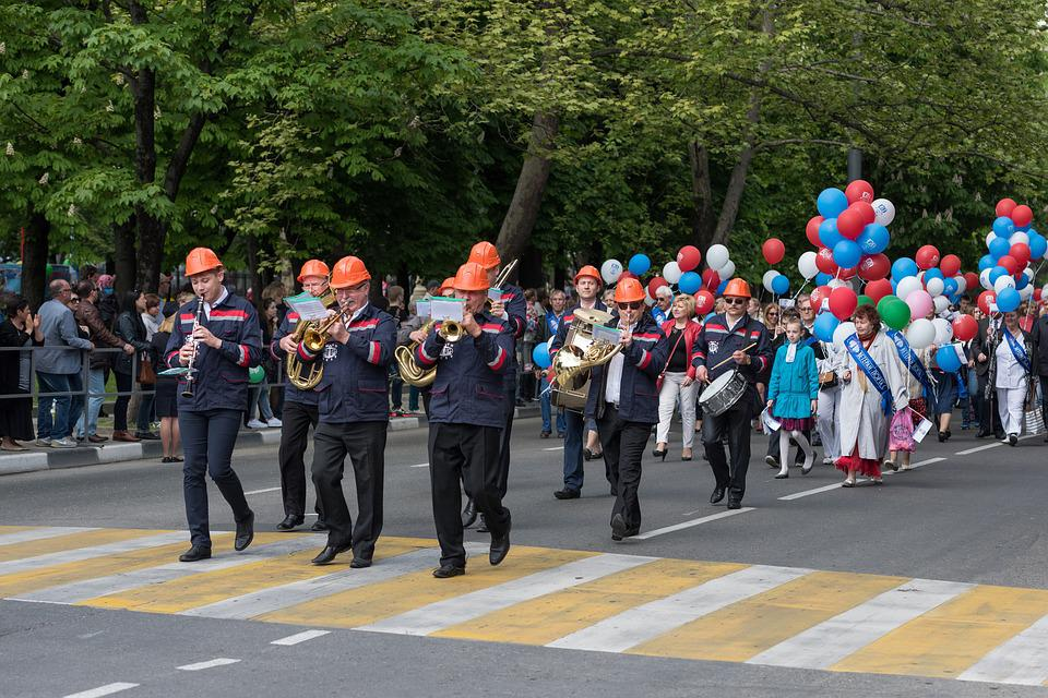 Parade, People, Event