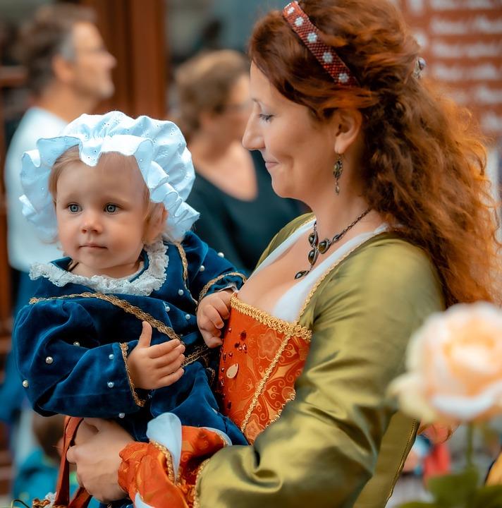 Carnival, Mother Dochkoi, People, Person, Portrait