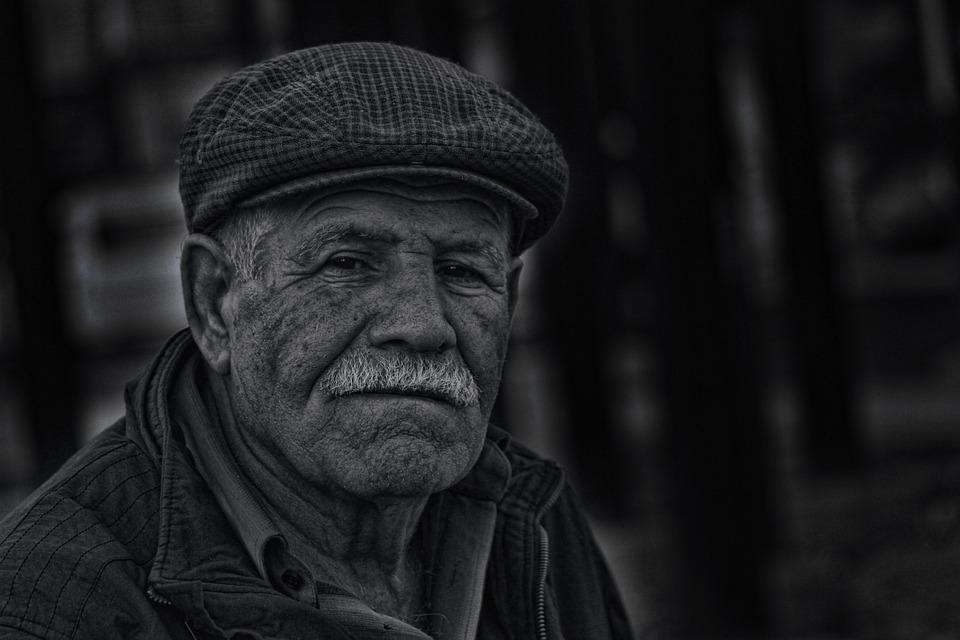 Old, Man, Sad, Black, Sadness, People, Men, Adult