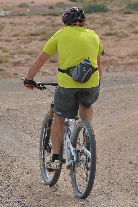 Man, Cycling, Mountain Bike, Sports, Hobby, People