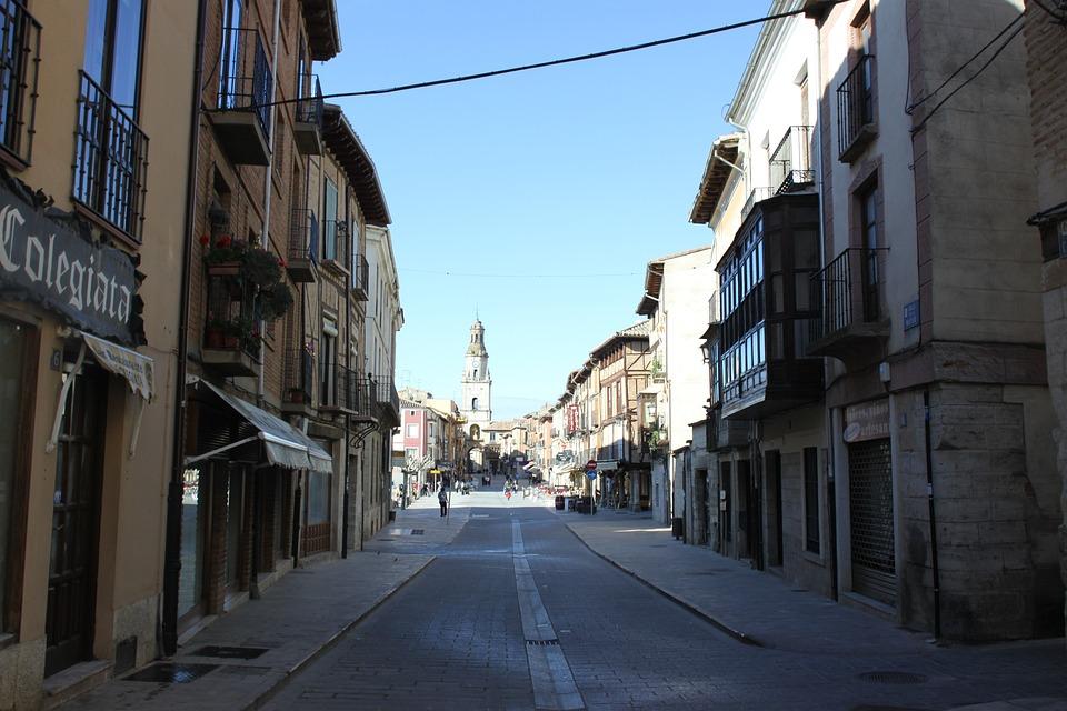 Street, Houses, People