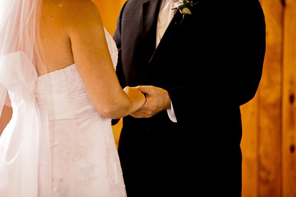 Wedding, Couple, Love, Bride, Groom, Woman, People