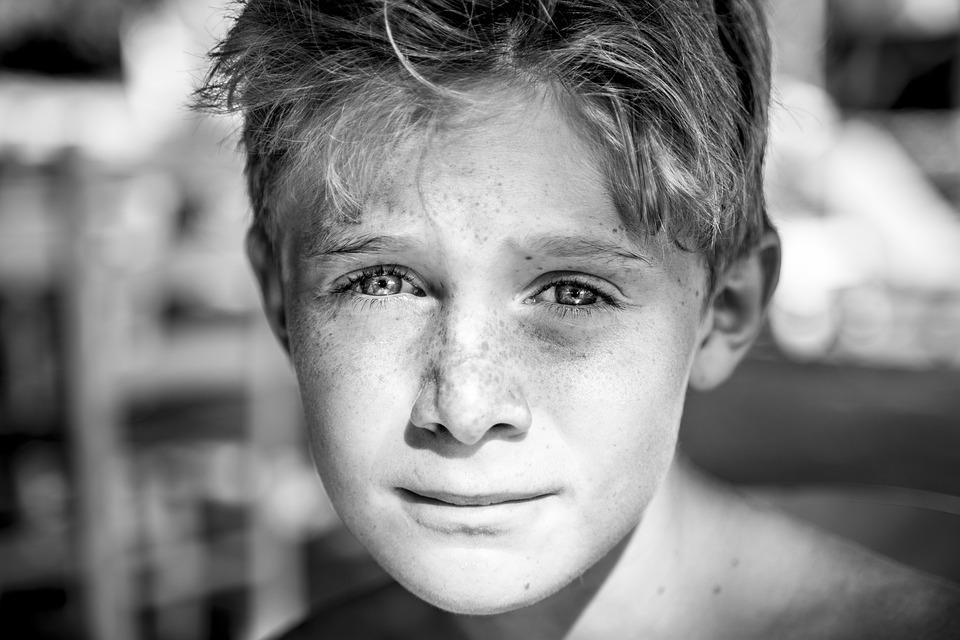 Child, Freckles, Young, People, Happy, Joy, Portrait