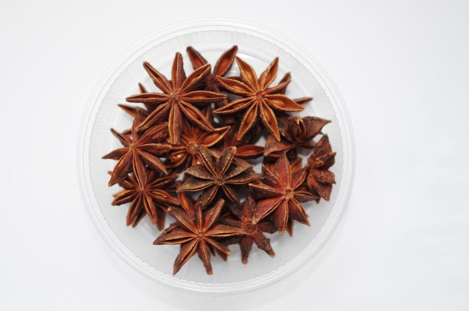 Star Anise, Star, Pepper, Aromatic, Fragrant, Baking