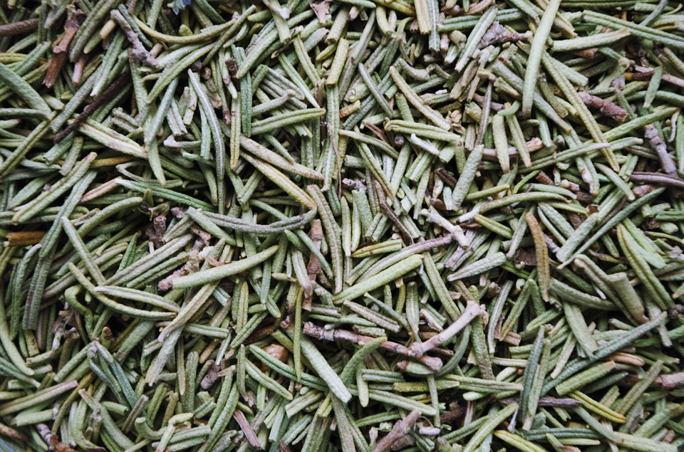 Rosemary, Dried, Pepper, The Smell Of, Fish, Plant