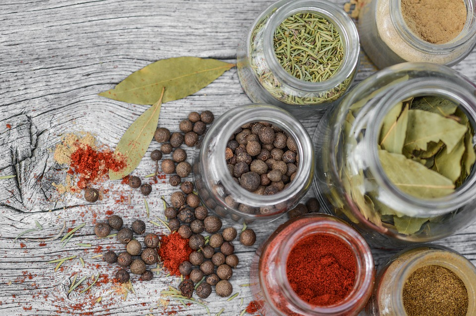Spices, Jar, Cooking, Rustic, Pepper, Glass, Ingredient