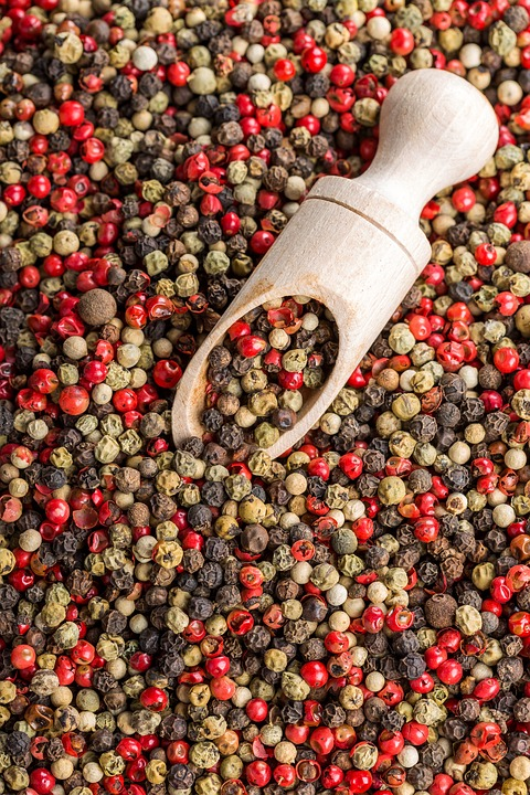 Pepper, Pepper Mix, Red Pepper, Seasoning, Spices, Food