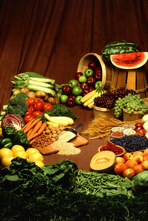 Vegetables, Fruits, Tomato, Pepper, Cabbage, Paprika