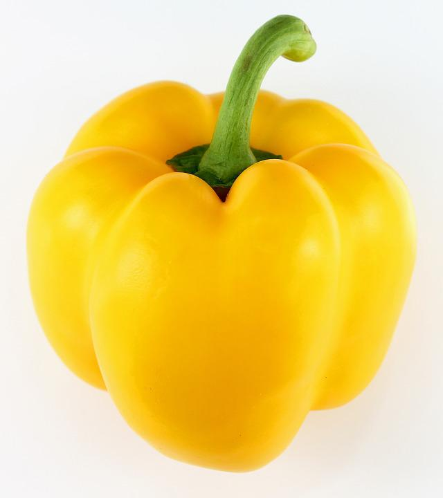 Paprika, Yellow Peppers, Vegetables, Yellow, Pepper