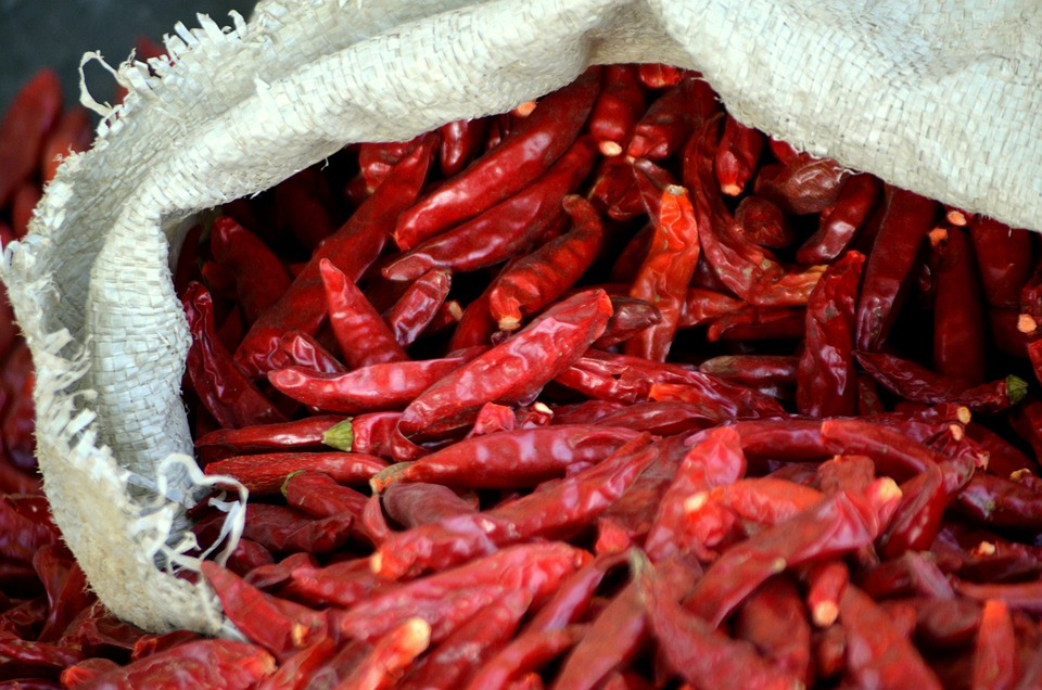 Food, Chili, Red Hot, Peppers, Pepper, Red Pepper