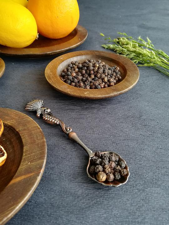 Pepper, Spices, Ingredient, Food, Cooking, Organic