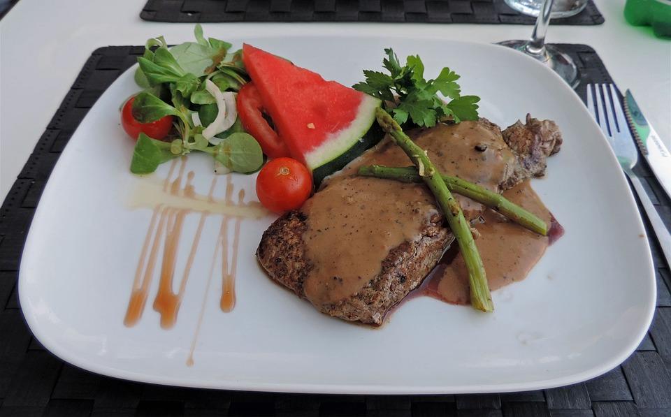 Mat, Pepper Steak, Spain, Torrevieja, Dinner, Meat