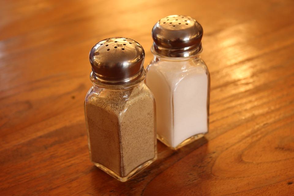 Salt, Pepper, Shaker, Seasoning, Food, Table