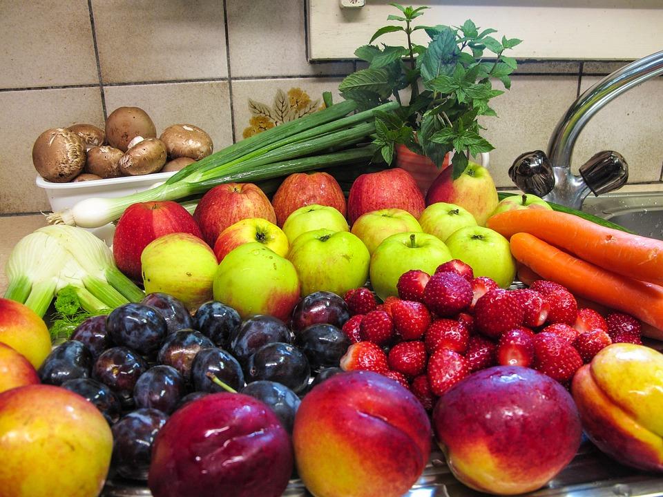 Fruit, Fruits, Mushrooms, Herbs, Peppermint