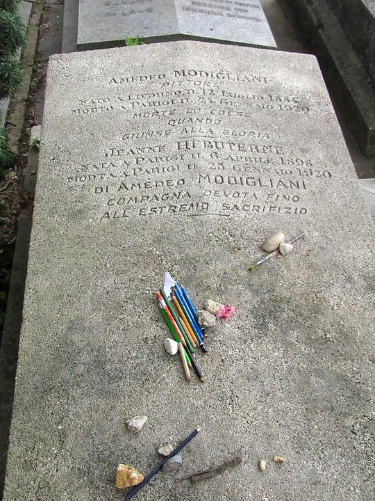 Paris, Père Lachaise, Cemetery, Tombstone, Grave