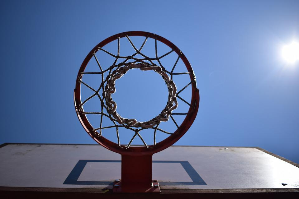 Basketball Hoop, Sun, About, Perfect, Sky, District