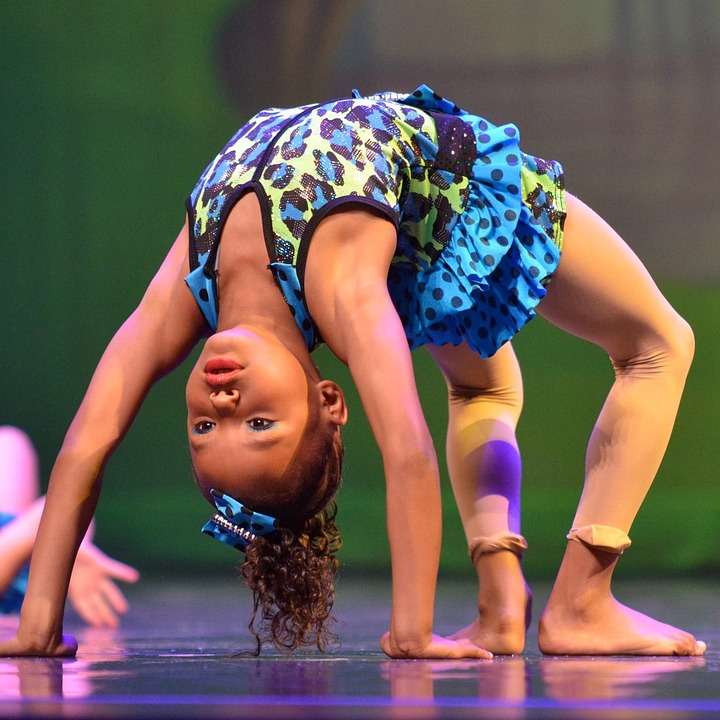 Backbend, Acrobat, Girl, Flexible, Perform, Stage