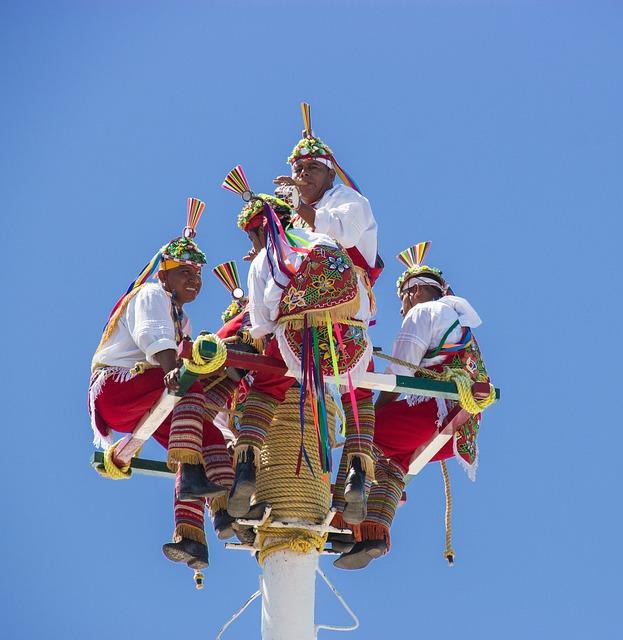 Dancers, Flyers, Mexico, Puerto Vallarta, Performance