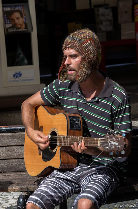 Musician, Street, Music, Urban, Performer, Acoustic