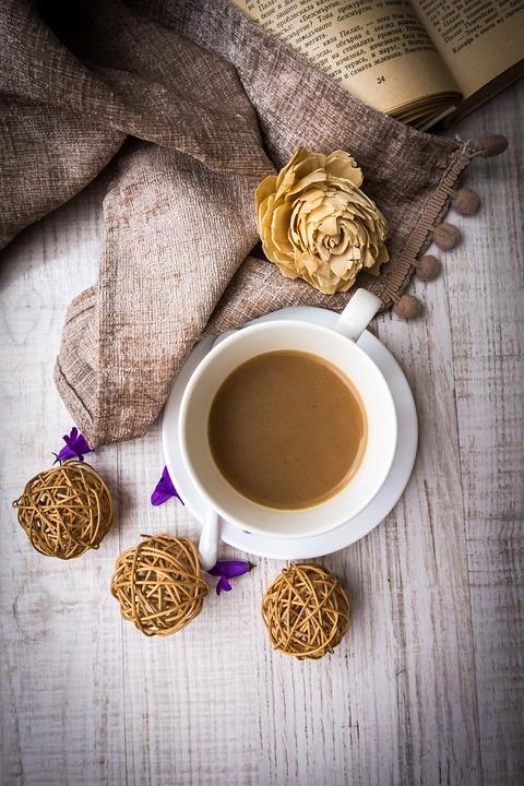 Drink, Cup, Perfume, Food, Wood, Table, Wooden, Coffee
