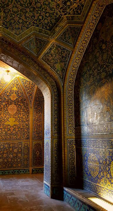 Iran, Isfahan, Mosque, Historical Place, Persian Art