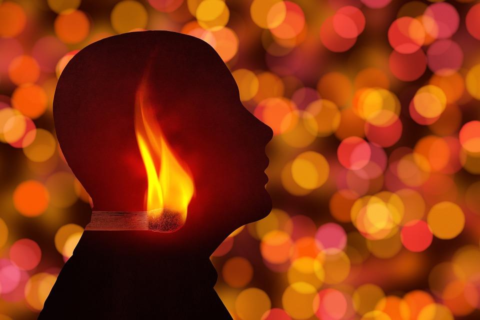 Head, Person, Match, Blaze, Bill, Light, Enlightenment