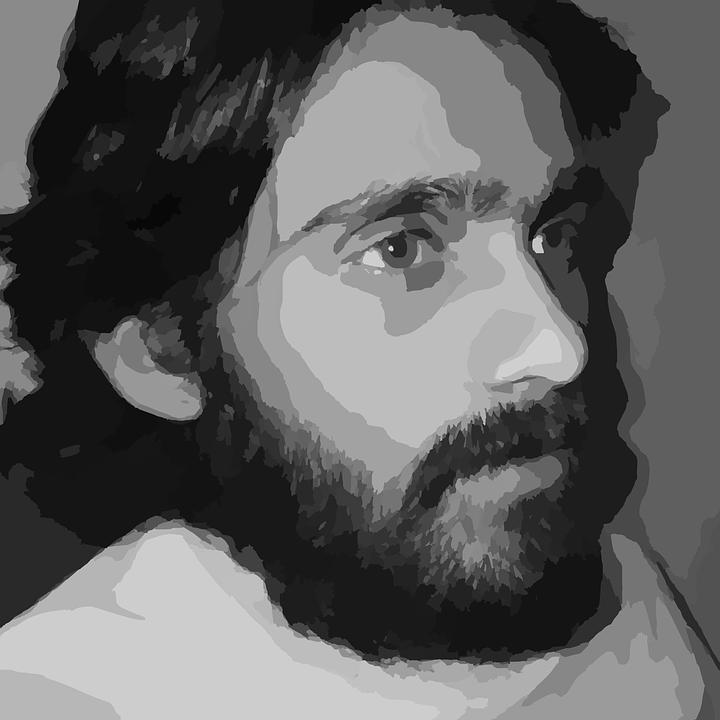 Man, Bearded, Beard, Guy, Male, Portrait, Person