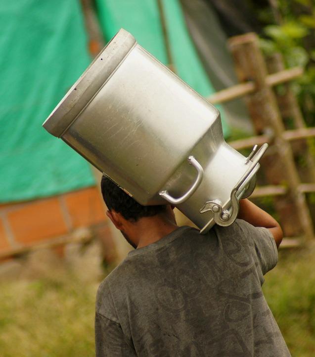 Image, Person, Peasant, Man, Caneca Milk