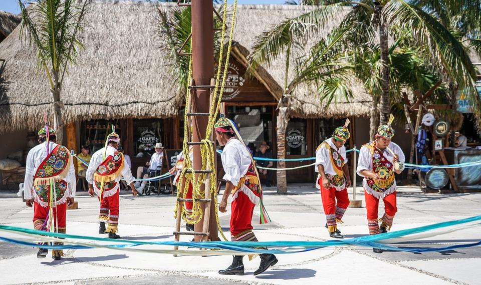 Costa Maya, Mexico, People, Person, Dancers