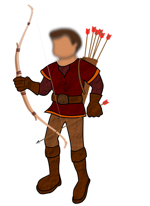 Archer, People, Medieval, Bow, Arrow, Sport, Person