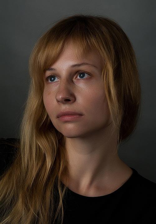 Portrait, Krupnyj Plan, Skin, Person, Girl, Woman