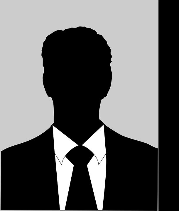 Silhouette, Male, Black And White, Man, Person