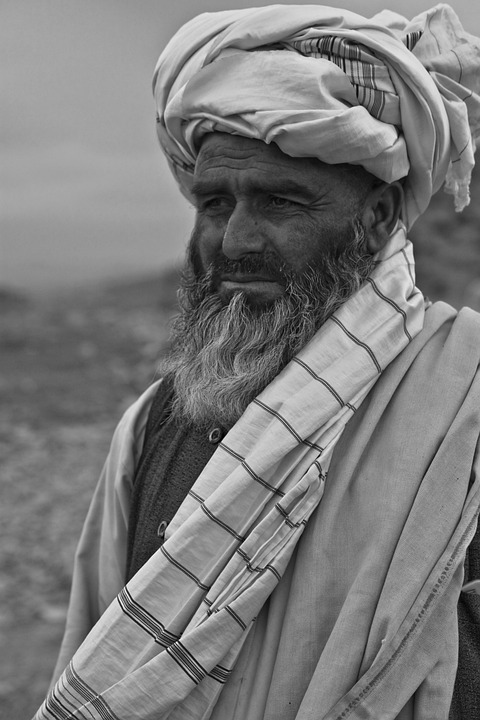Man, Old, Afghanistan, Person, Thoughtful, Turban