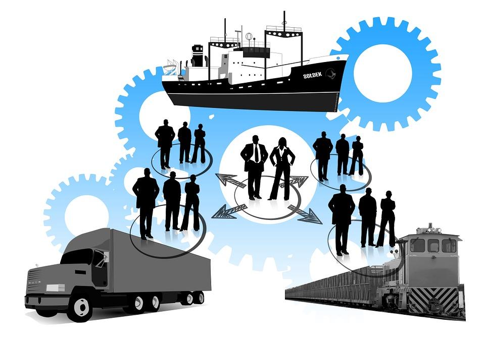 Logistics, Truck, Freight Train, Frachtschiff, Personal
