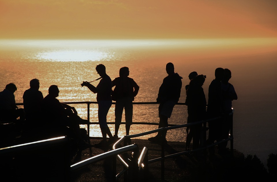 Sunset, Evening Sky, Nature, Human, People, Personal