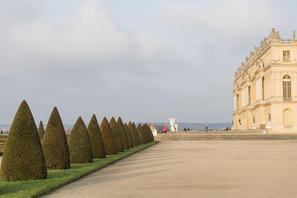Paris, Versailles, Perspective
