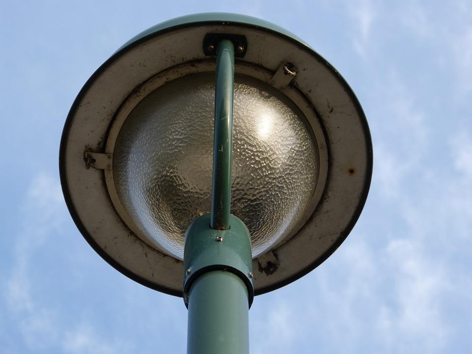 Lantern, Street Lamp, Perspective, Sky, Street Lighting