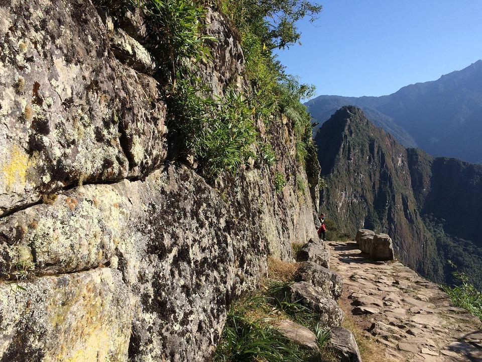 Peru, Machu Picchu, Inca, Mountain Trail