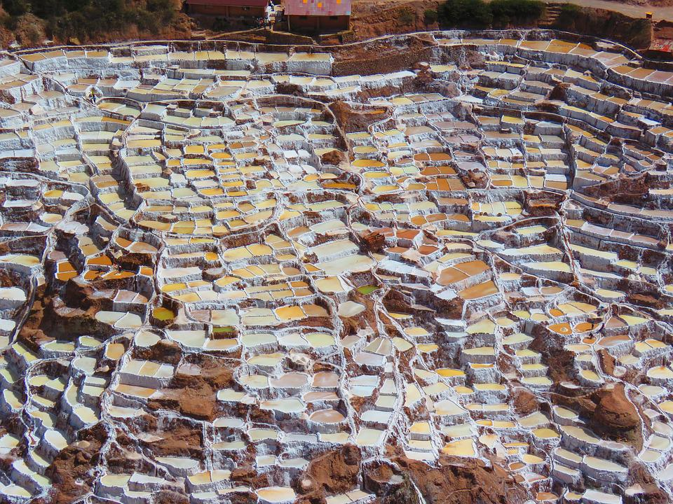 Landscape, Saline, Salt, Mountain, Peru