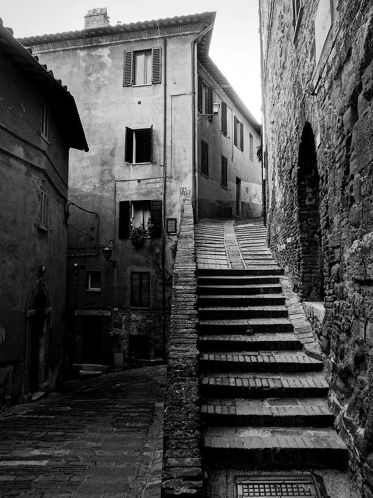 Perugia, Umbria, Italy, Middle Ages, City, Walls