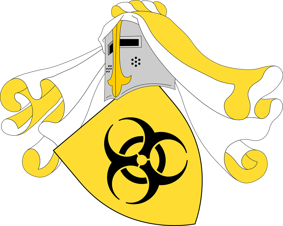 Shield, Mantle, Biohazard, Pestilence