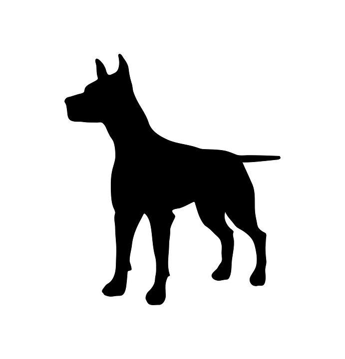 Dog, Animal, Silhouette, Pet, Black, Design, Symbol