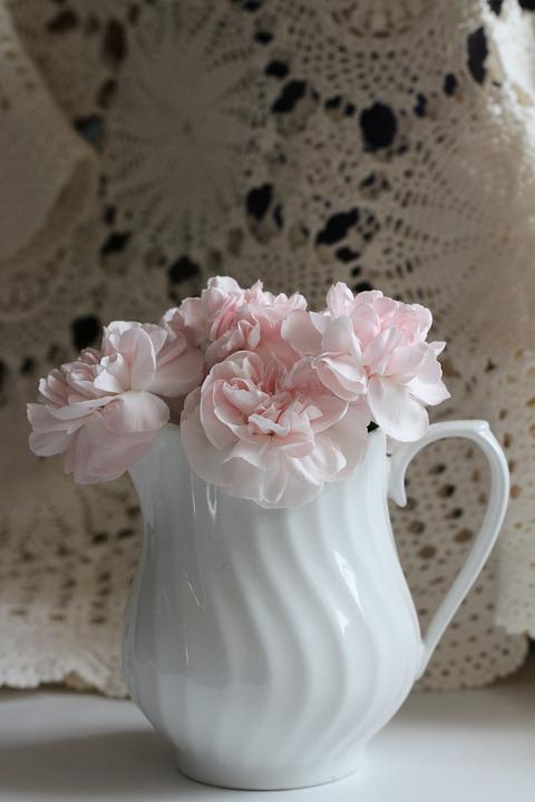 Flower, Pink, White, Floral, Petal, Fresh, Bouquet