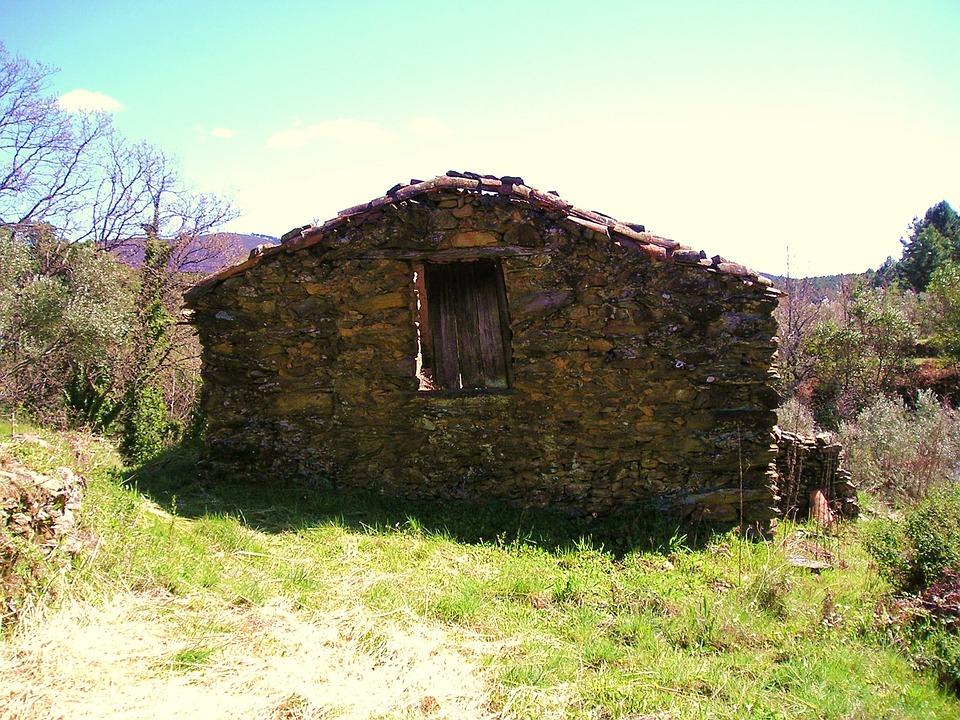 Sheepfold, Mountain, Stones, Petit, House, Chalet