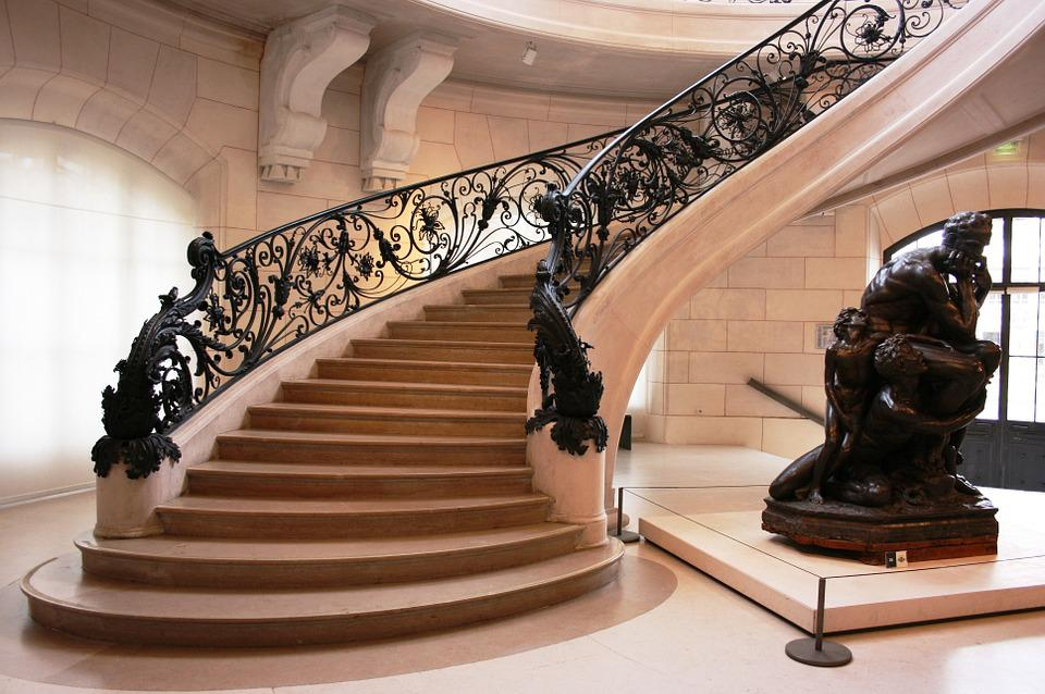 free photo petit palais france art nouveau paris staircase max pixel