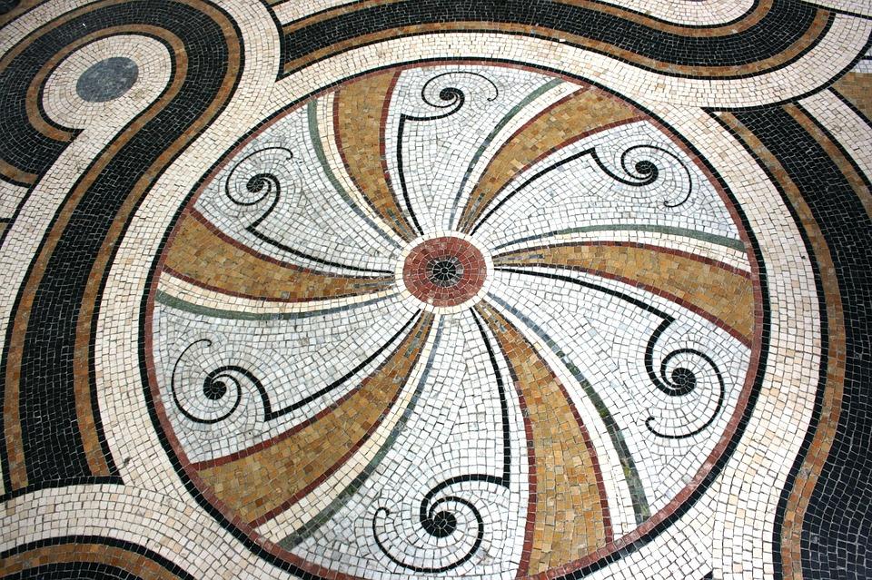 Mosaic, Petit Palais, Paris, France