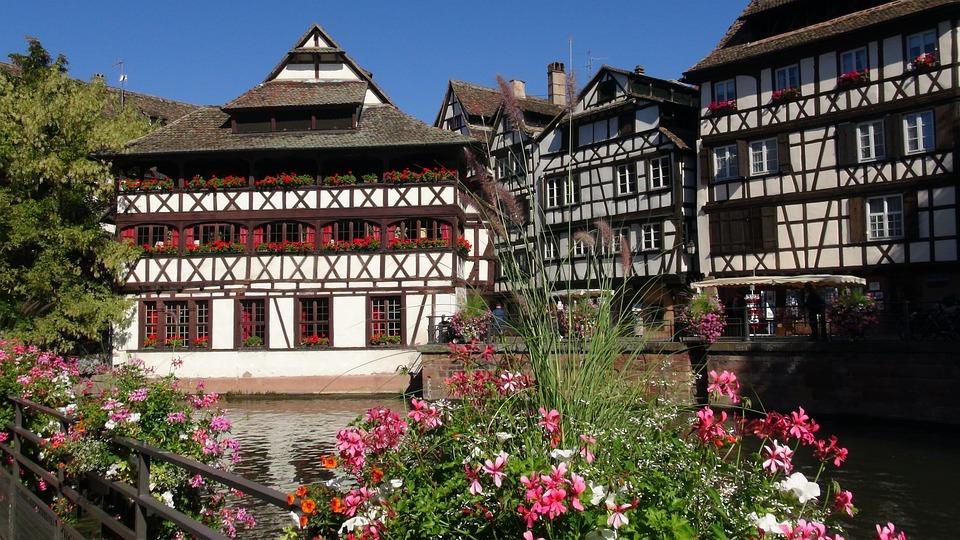 Strasbourg, Petite France, Alsace