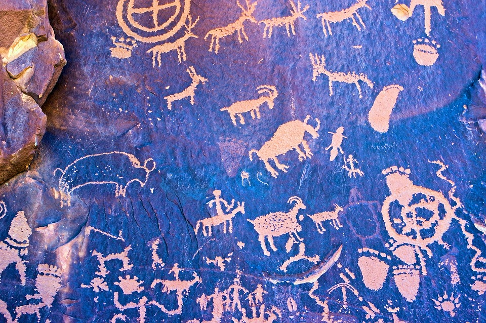 Newspaper Rock Art, Petroglyph, Rock, Petroglyphs