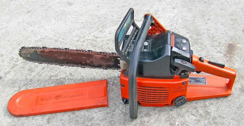 Chainsaw, Tool, Wood-cutting, Petrol Chain Saw
